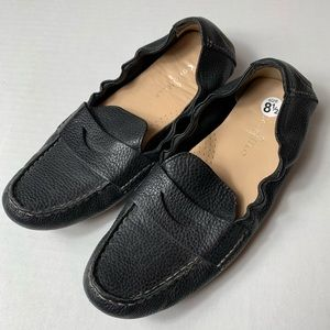Cole Haan Black Leather Loafers